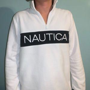 Never Worn Nautical Fleece Pullover